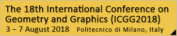 The 18th International Conference on Geometry and Graphics (ICGG2018)